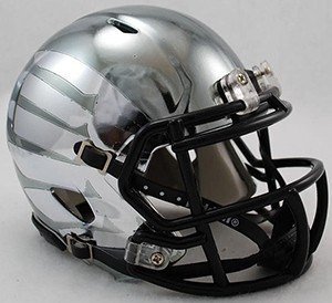 Oregon Ducks LiquidMetal HydroSkin Revolution Speed Mini Helmet NEW 2014