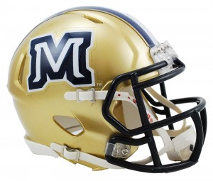 Montana St Bobcats Revolution Speed Mini Helmet
