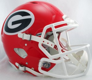Georgia Bulldogs Authentic Revolution Speed Full Size Helmet