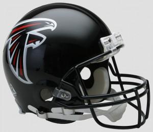 Atlanta Falcons 2003-2019 Throwback Riddell Full Size Authentic Vsr4 Helmet