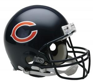 Chicago Bears Authentic Proline Full Size Helmet