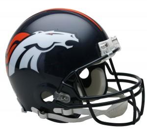 Denver Broncos Authentic Proline Full Size Helmet