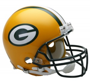 Green Bay Packers Authentic Proline Full Size Helmet
