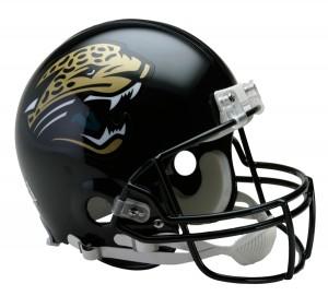 Jacksonville Jaguars 1995-2012 Throwback Auth Proline Full Size Helmet