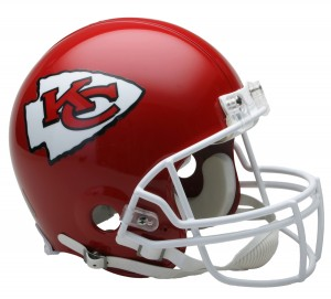 Kansas City Chiefs Authentic Proline Full Size Helmet