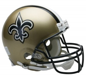 New Orleans Saints Authentic Proline Full Size Helmet