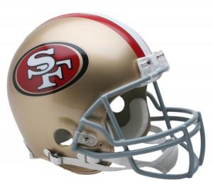 San Francisco 49ers Authentic Proline Full Size Helmet