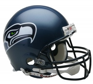 Seattle Seahawks 2002-2011 Throwback Authentic Full Size Helmet