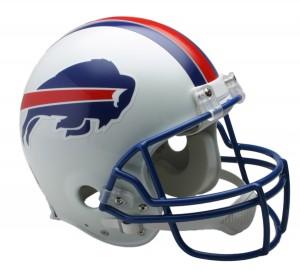 Buffalo Bills 1976-1983 Throwback Authentic Full Size Helmet