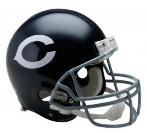 Chicago Bears 1962-1973 Throwback Authentic Full Size Helmet