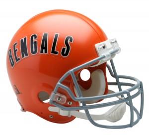Cincinnati Bengals 1968-1979 Throwback Authentic Full Size Helmet
