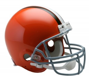Cleveland Browns 1962-1974 Throwback Authentic Full Size Helmet