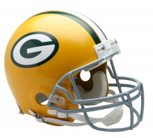 Green Bay Packers 1961-1979 Throwback Authentic Full Size Helmet