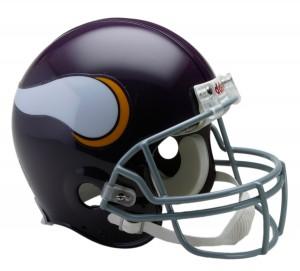 Minnesota Vikings 1961-1979 Throwback Authentic Full Size Helmet