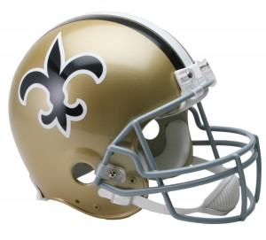 New Orleans Saints 1967-1975 Throwback Authentic Full Size Helmet