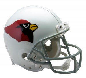Arizona Cardinals 1960-2004 Throwback Authentic Full Size Helmet