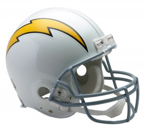 San Diego Chargers 1961-1973 Throwback Authentic Full Size Helmet