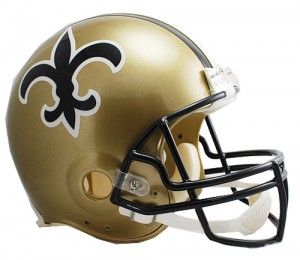 New Orleans Saints 1976-1999 Throwback Authentic Full Size Helmet