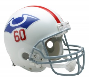 New England Patriots 1960 Throwback Authentic Full Size Helmet