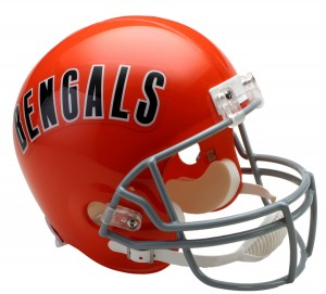 Cincinnati Bengals 1968-1979 Throwback Replica Full Size Helmet