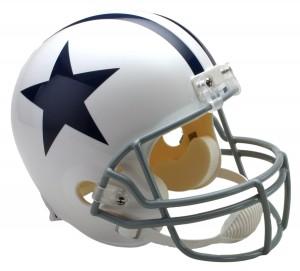 Dallas Cowboys 1960-1963 Throwback Replica Full Size Helmet
