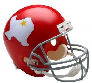 Dallas Texans 1960-1962 Throwback Replica Full Size Helmet