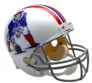 New England Patriots 1965-1981 Throwback Replica Full Size Helmet