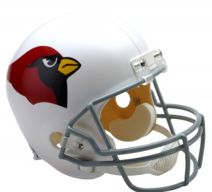 Arizona Cardinals 1960-2004 Throwback Replica Full Size Helmet