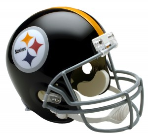 Pittsburgh Steelers 1963-1976 Throwback Replica Full Size Helmet