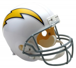 San Diego Chargers 1961-1973 Throwback Replica Full Size Helmet