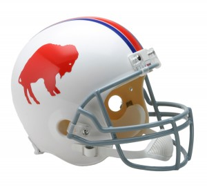 Buffalo Bills 1965-1973 Throwback Replica Full Size Helmet