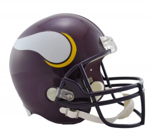 Minnesota Vikings 1983-2001 Throwback Replica Full Size Helmet