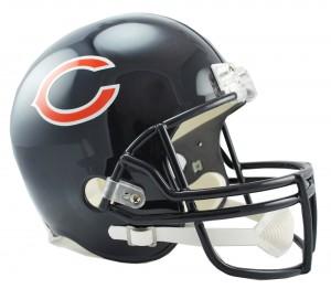 Chicago Bears Replica Full Size Helmet