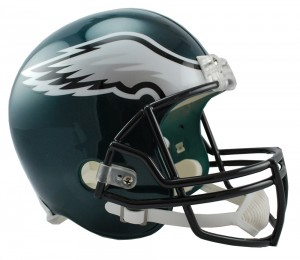 Philadelphia Eagles Replica Full Size Helmet