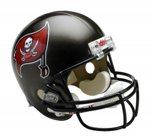Tampa Bay Buccaneers 1997-2013 Throwback Replica Full Size Helmet