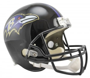 Baltimore Ravens Replica Full Size Helmet
