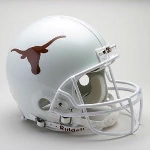 Texas Longhorns Riddell Full Size Authentic Vsr4 Helmet