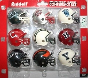 Riddell NCAA Ivy League 9pc VSR4 Pocket Size Helmet Set