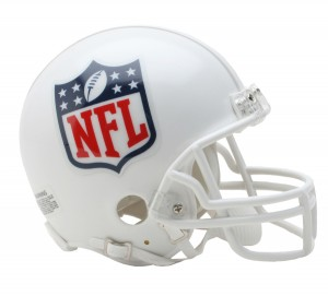 NFL Shield Replica Mini Helmet