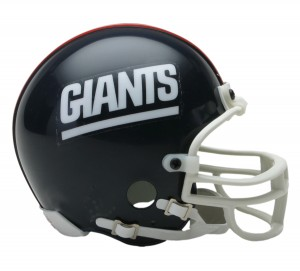 New York Giants 1981-1999 Throwback Replica Mini Helmet