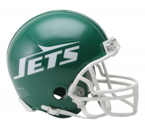 New York Jets 1978-1989 Throwback Replica Mini Helmet