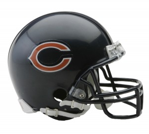 Chicago Bears Replica Mini Helmet