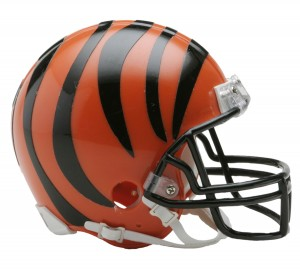 Cincinnati Bengals Replica Mini Helmet