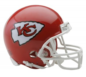 Kansas City Chiefs Replica Mini Helmet