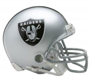 Las Vegas Raiders Riddell Mini Vsr4 Helmet