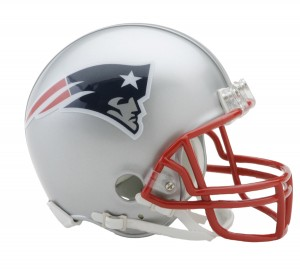 New England Patriots Replica Mini Helmet