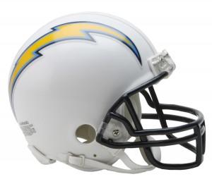 San Diego Chargers Replica Mini Helmet