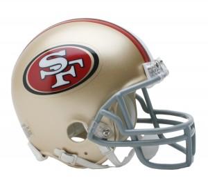 San Francisco 49ers Replica Mini Helmet