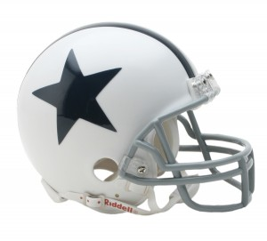 Dallas Cowboys 1960-1963 Throwback Replica Mini Helmet