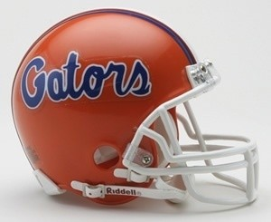 Florida Gators Riddell Mini Vsr4 Helmet